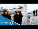 Enrique Peña Nieto llega a Suiza / Actividades del Presidente Enrique Peña Nieto