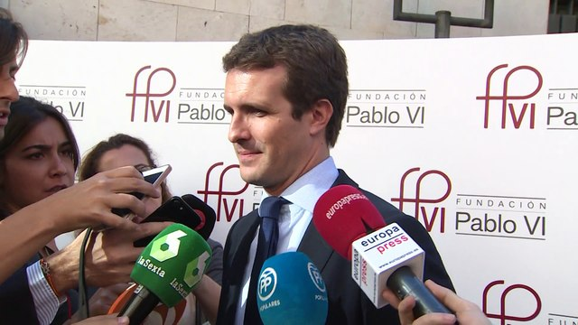 """Casado vuelve a pedir elecciones a Sánchez: """"El Gobierno se cae a trozos"""""""