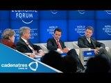 Peña Nieto habla de la situación de Michoacán en el Foro Económico de Davos