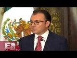 Secretario de Hacienda Luis Videgaray anuncia un recorte preventivo al gasto publico/Excélsior info