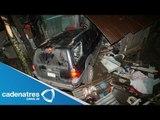 Mueren 7 monjas al caer su camioneta 100 metros en Puebla