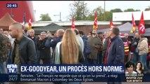 Plus de 800 ex-salariés de Goodyear contestent leurs licenciements devant le tribunal d'Amiens