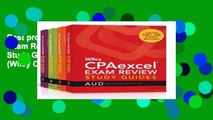 Best product  Wiley CPAexcel Exam Review January 2017 Study Guide: Complete Set (Wiley CPA Exam