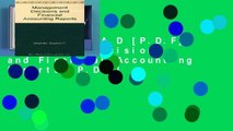 D.O.W.N.L.O.A.D [P.D.F] Management Decisions and Financial Accounting Reports [P.D.F]