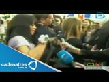 Rihanna agreda a una reportera en Francia / Rihanna assaults a reporter in France