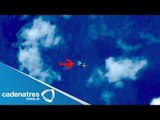Satélite chino captó imágenes de posibles restos del avión malasio