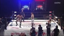 Tribe Vanguard (BxB Hulk & YAMATO) (c) vs. Don Fujii & Ryo Saito Open The Twin Gate Title Match Dragon Gate The Gate Of Origin 2018