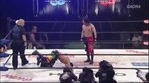 Eita (c) vs. Punch Tominaga Open The Brave Gate Title Match Dragon Gate The Gate Of Origin 2018