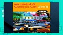 [P.D.F] Fodor s Montreal and Quebec City 2006 (Fodor s Montreal   Quebec City) [E.B.O.O.K]