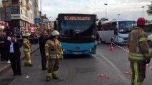 Kadıköy'de yolda çökme - İSTANBUL