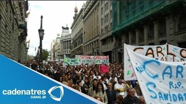 Médicos y Enfermeras toman las calles de Venezuela contra gobierno de Maduro