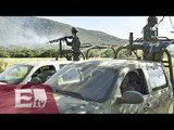 Amplían búsqueda de militares que tripulaban helicóptero atacado / Vianey Esquinca