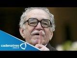 Gabriel García Márquez delicado de salud / Gabriel Garcia Marquez delicate health