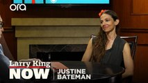 Justine Bateman describes her own encounters with famous people