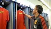 Espagne - Luis Enrique dévoile sa liste dans le vestiaire