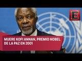 Fallece Kofi Annan,  exsecretario general de la ONU y Nobel de la Paz
