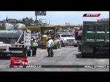 Reducción de carriles por obras en la autopista México-Puebla / Titulares de la tarde