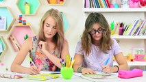 CHALLENGE : 10 FOURNITURES SCOLAIRES SQUISHY vs FOURNITURES SCOLAIRES SLIME