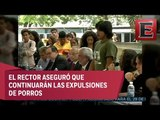 Graue se reúne con alumnos del CCH Azcapotzalco