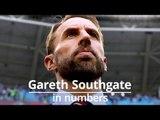 Gareth Southgate In Numbers