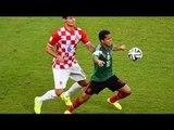 Selección Mexicana paraliza México con su triunfo sobre Croacia / México vs croacia 2014