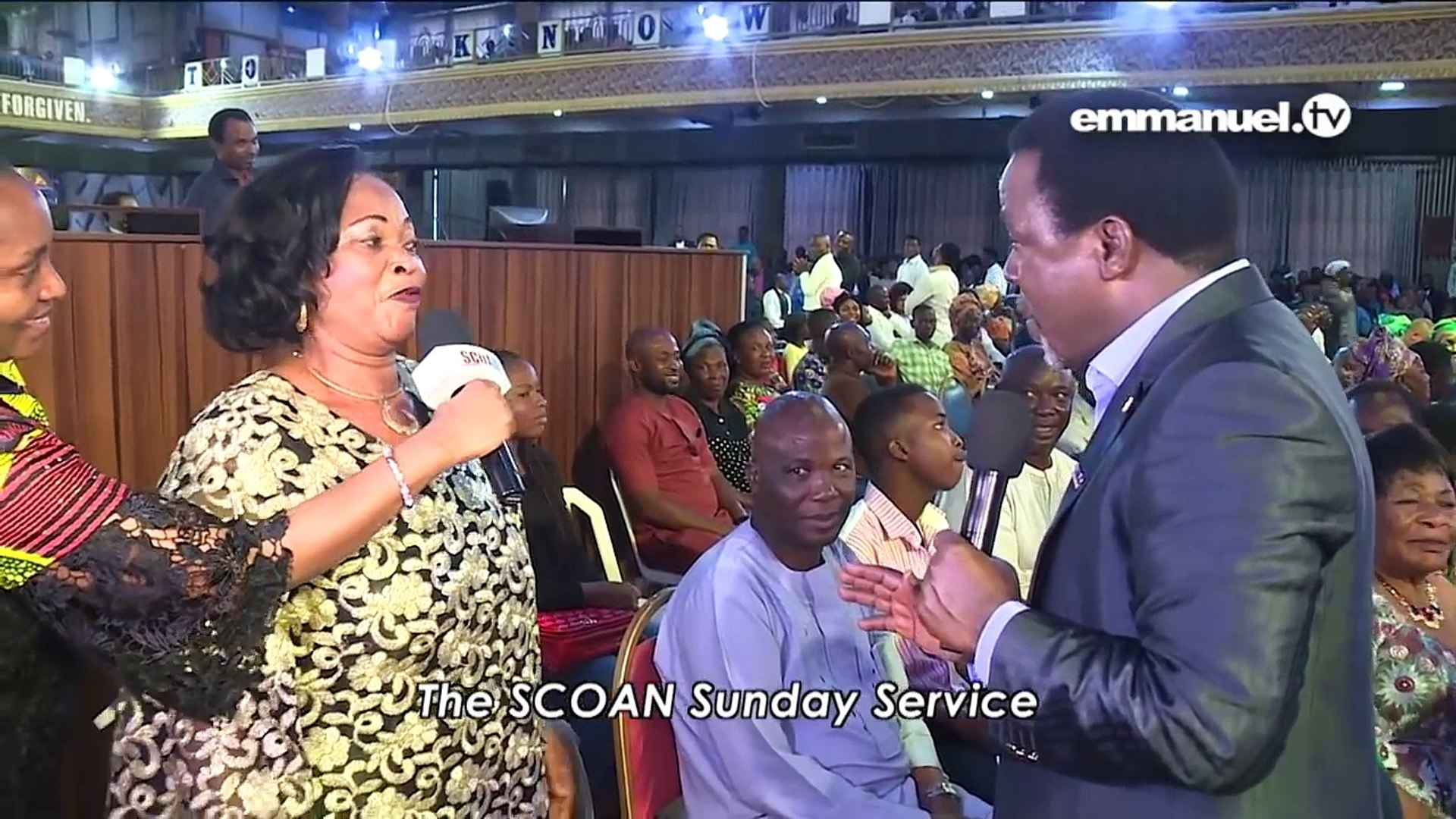 WATCH WHAT MADE T B  JOSHUA LAUGH OUT LOUD!!!