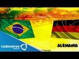 Semifinal entre Brasil vs Alemania en el mundial 2014