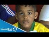 Brasileño llama a su hijo Zinedine Yazid Zidane Thierry Henry Barthez Eric Felipe Silva Santos