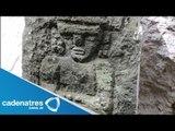 Descubren en Aguascalientes pieza prehispánica / Discovered in Aguascalientes prehispanic piece