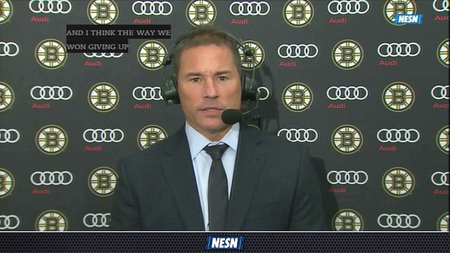 Bruce Cassidy Pleased With Bruins' Compete Level In 4-0n Win Vs. Sabres