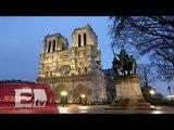 Misa masiva en Notre Dame por víctimas de atentados en París / Vianey Esquinca