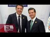 EPN se reúne con el presidente del Consejo de Ministros de Italia / Paola Virrueta