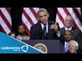 Barack Obama autoriza bombardeos a Irak / Barack Obama authorized bombing in Iraq