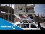 Segundo día de tregua en Gaza / Israelíes y palestinos negocian a través de Egipto el alto al fuego