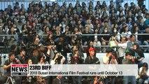2018 Busan International Film Festival opens on Thursday