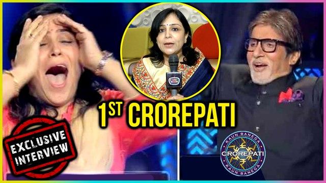 Kaun Banega Crorepati 10 gets its first crorepati in Binita Jain: Exclusive Interview