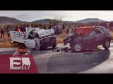 Muere familia en accidente carretero en San Luis Potosí / Pascal Beltrán