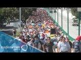 Manifestantes piden justicia para los desaparecidos en Iguala