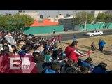 Realizan simulacro de bienvenida al Papa Francisco en Ecatepec / Francisco Zea