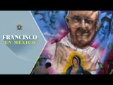 Ecatepec se pinta con graffitis para dar la bienvenida al Papa