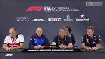 Japanese GP 2018 : Team principals' press conference