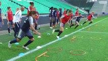 L'entraînement de l'Equipe de France Féminine à Geoffroy-Guichard I FFF 2018