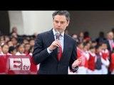 Aurelio Nuño dice que la influenza no es motivo para cerrar escuelas / Ricardo Salas