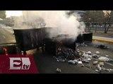 Encapuchados toman instalaciones de la Facultad de Filosofía y Letras de la UNAM / Ricardo Salas