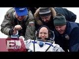 Scott Kelly regresa a EU tras pasar 340 días en el espacio / Ingrid Barrera