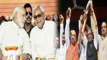 Bihar Survey के बाद Nitish Kumar समेत तमाम NDA Leaders BJP की जीत के लिए जरूरी | वनइंडिया हिंदी