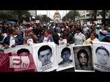 Padres de los 43 normalistas exigen a CIDH continuar con investigación / Vianey Esquinca