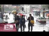 Fuertes lluvias y granizo desquician la Ciudad de México / Francisco Zea