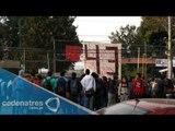 Toman preparatoria 5 de la UNAM, reclaman el regreso de 43 normalistas