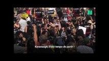 Des milliers de manifestants protestent contre le juge Kavanaugh à Washington